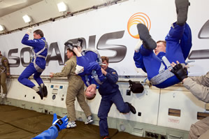 fly zero gravity in Russia